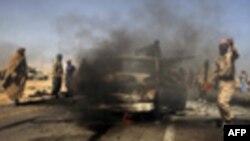 Vazhdon beteja për qytetin e Bregas mes rebelëve dhe forcave të Gadafit në Libi