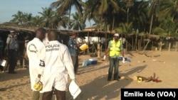 ساحل توریستی که روز یکشنبه مورد حمله قرار گرفت.