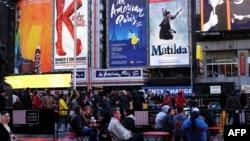 百老匯演出停歇至2021年。(資料圖片)