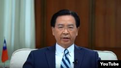 台灣外交部部長吳釗燮(資料圖片)