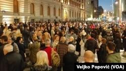 Protest građana i opozicije u Beogradu, 23. mart 2019.