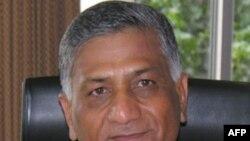 Tham mưu trưởng quân đội Ấn Ðộ, Tướng VK Singh