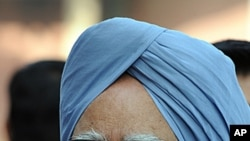 Indian Prime Minister Manmohan Singh in New Delhi, March 12, 2012.