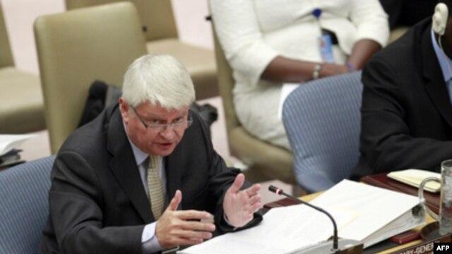 FILE - Hervé Ladsous, head of U.N. Peacekeeping Operations, October 6, 2011.