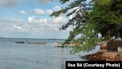 Guiné-Bissau tem uma longa costa marítima