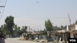 محل حمله امروزی در شهر جلال اباد