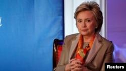 Hillary Clinton, New York, le 2 mai 2017.