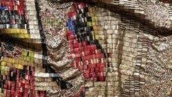 Монументальные инсталляции африканского художник