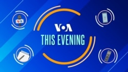 VOA This Evening 21 Januari 2021