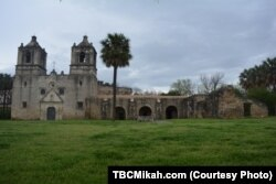 Mission Concepción in San Antonio appears very much as it did when it was built in 1731.