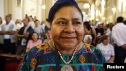 Rigoberta Machu y otras mujeres dialogaron sobre el campo ancestral, econonomía, educación y alimentación.