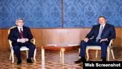 Azərbaycan prezidenti İlham Əliyev və Ermənistan prezidenti Serj Sarkisyan
