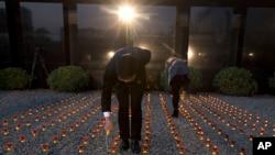 Quảng trường tưởng niệm vụ thảm sát Nam Kinh, tỉnh Giang Tô, Trung Quốc.
