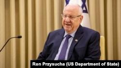 Президент Израиля Реувен Ривлин (архивное фото)