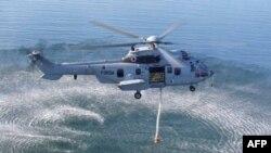 Trực thăng EC 225 do công ty Eurocopter của Pháp sản xuất là loại máy bay tầm xa hiện đại, thích hợp cho công tác tìm kiếm cứu hộ trên biển