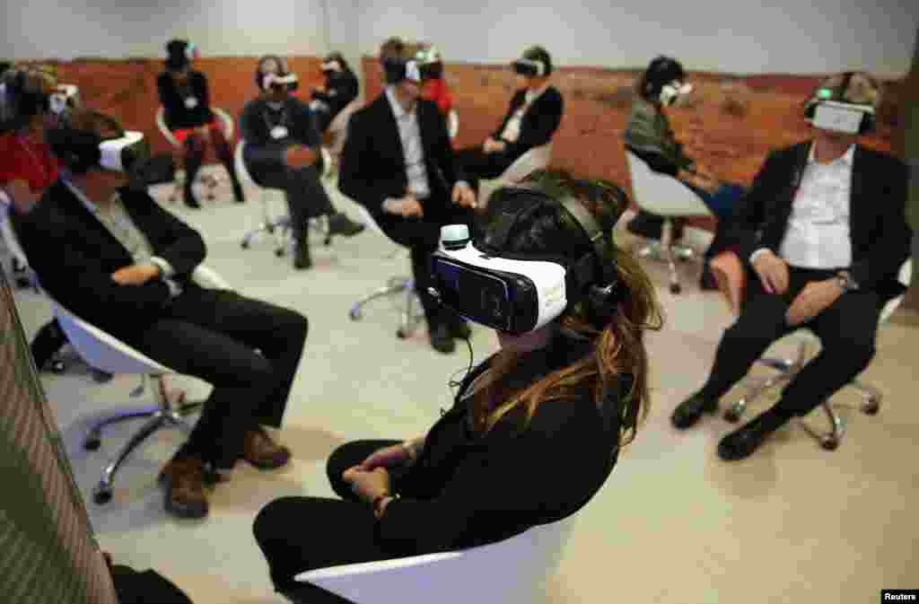 Davos - 'Collisions. A Virtual Reality World Premiere'