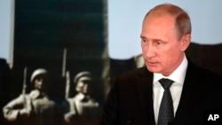 Putin Moğolistan'ın başkenti Ulan Batur'da Ukrayna için barış planını açıklarken