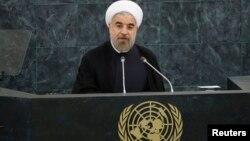 伊朗總統魯哈尼首次在聯大發言