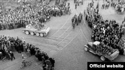 Ввод советских войск в Латвию. 17 июня 1940