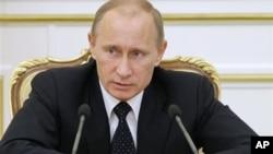俄罗斯总理普京周二在莫斯科
