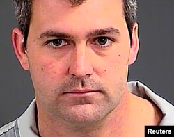 North Charleston Police Officer Michael Slager is seen in an undated photo released by the Charleston County Sheriff's Office in Charleston Heights, South Carolina.