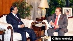 نواز شریف کی صدر زرداری سے ملاقات