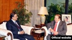 وزیراعظم نواز شریف اور سابق صدر آصف زرداری (فائل)