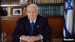 以色列前总理沙龙(资料照片2005年8月15日)