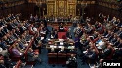 英國上議院(資料圖片)