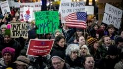 VOA: Protestas Juicio Político