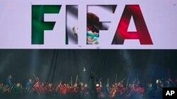 지난 3월 멕시코 시티에서 열린 FIFA 평의회 회의 개막식. (자료사진)