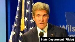 Menteri Luar Negeri Amerika Serikat, John Kerry, di Washington D.C., 28 September 2016. (Foto: dok).