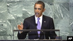 El presidente Obama dijo a la Asamblea General de la ONU que el futuro de nuestras naciones se debe regir por gente como Chris Stevenes y no por sus asesinos.
