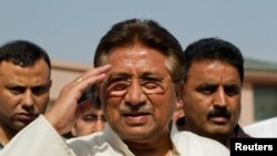 Mantan presiden Pakistan Pervez Musharraf (Foto: dok).