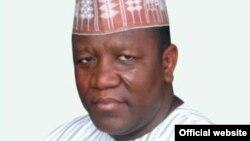 Gwamna Abdul'aziz Abubakar Yari na Jihar Zamfara, arewa maso yammacin Najeriya.