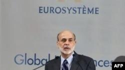 Chủ tịch Quỹ Dự trữ Liên bang Hoa Kỳ Ben Bernanke phát biểu trong một cuộc họp với các thống đốc ngân hàng trung ương G20 ở Paris, Thứ Sáu 18/2/2011