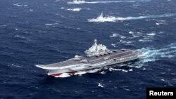 Hàng không mẫu hạm Liêu Ninh của Trung Quốc.