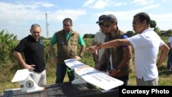 U.N. Food and Agriculture Organization and Philippine technical experts are ready for deployment across the country to support drone agricultural missions. (Photo courtesy of FAO)