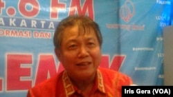 Politisi PDIP, Hendrawan Supratikno (Foto: VOA/Iris Gera).