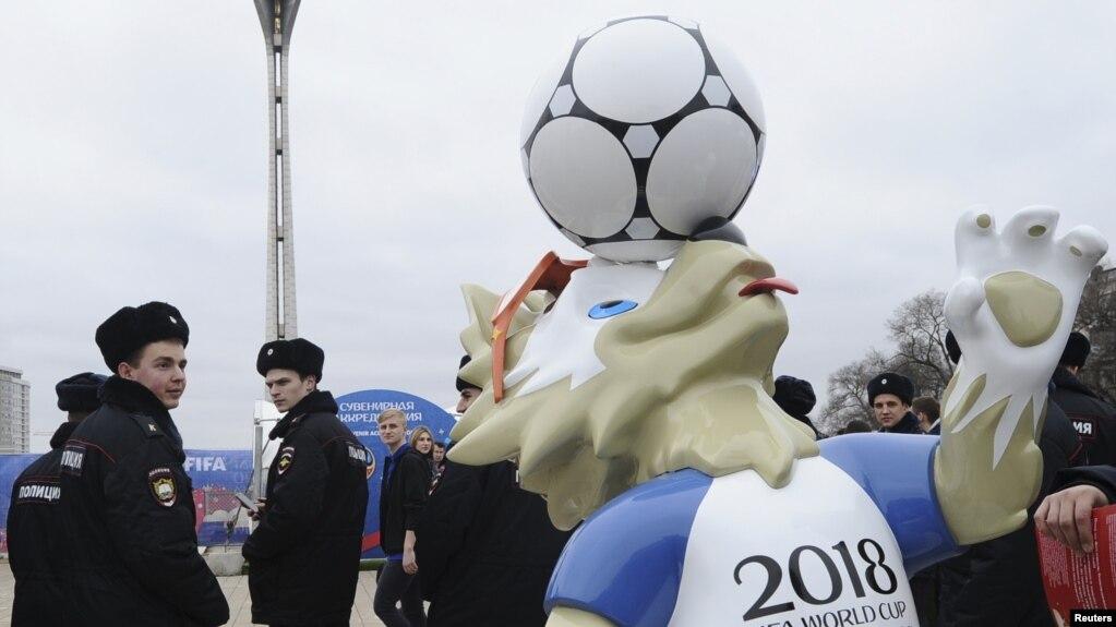 Nga thành lập 'cảnh sát du lịch' để bảo vệ World Cup 2018