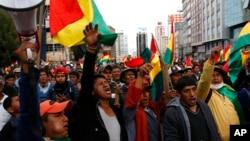 Un informe redactado por lamisión enviada por la Organización de los Estados Americanos (OEA) a Bolivia determinó que sí hubo fraude en las elecciones del pasado mes de octubre.