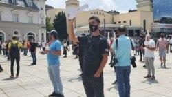 Protest kosovskih ugostitelja zbog pooštravanja mera protiv pandemije