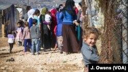 Sirijske izbeglice u libanskoj dolini Beka