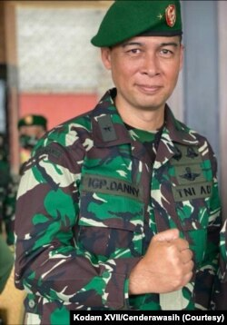 Kepala Badan Intelijen Negara Daerah (Kabinda) Papua, Brigjen TNI I Gusti Putu Danny Karya Nugraha. (Foto: Kodam XVII/Cenderawasih)