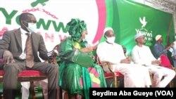 La grande coalition de l'opposition portée par les leaders Khalifa Sall et Ousmane Sonko, le 8 septembre 2021.