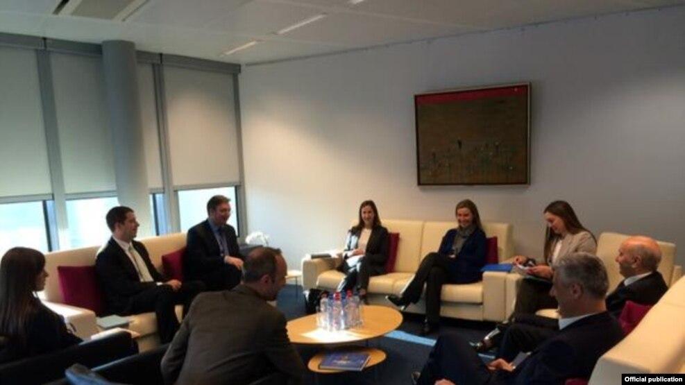 Debate rreth ekipit themelues të asociacionit të komunave me shumicë serbe