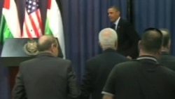 Obama Calls for Talks on Core Israeli-Palestinian Issues