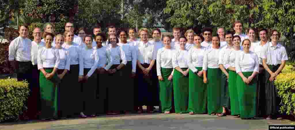 အေမရိကန္ Peace Corps ေစတနာ့့ဝန္ထမ္းမ်ား (သတင္းဓာတ္ပံု - Peace Corps Facebook)