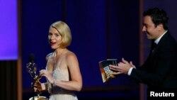 Glumica Kler Dejns osvojila nagradu Emi za ulogu u drami Homeland, 22, septembar, 2013.
