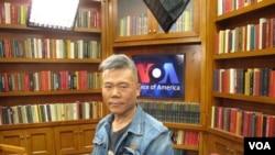 中国左派领军人物司马南(美国之音王南拍摄)
